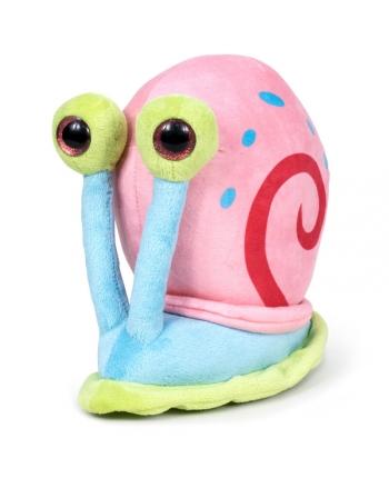 Plyšový Gary slimák 3D oči - Spongebob - 18 cm