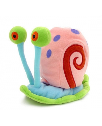 Plyšový Gary slimák Supersoft - Spongebob - 14 cm