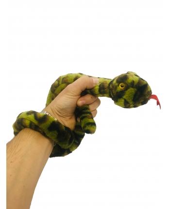 Plyšový had maskáčový - 85 cm