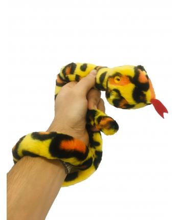 Plyšový had farebný - 85 cm