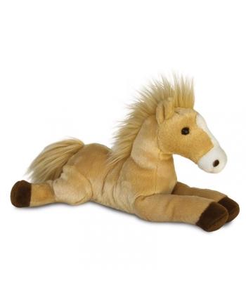 Plyšový koník karamelový - Flopsie (30 cm)