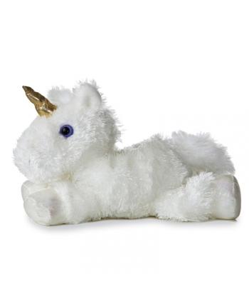 Plyšový jednorožec biely - Flopsie (20,5 cm)