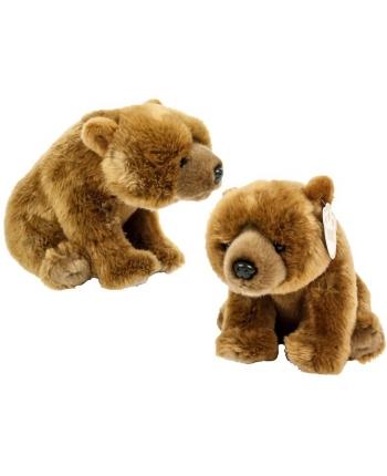Plyšový medveď hnedý - 25 cm