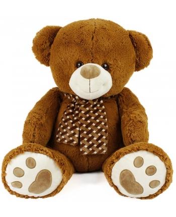 Plyšový medveď hnedý so šálom (94 cm)