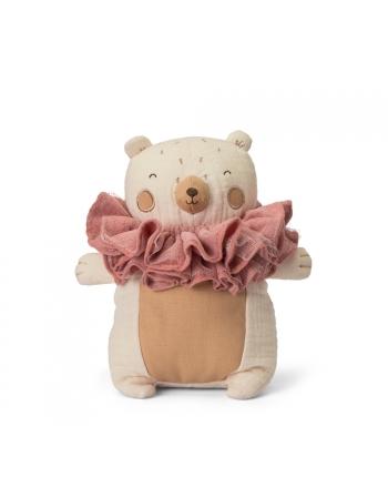 Plyšový medveď so šálom - Picca Loulou - 20 cm