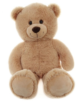 Plyšový medveď svetlý - 80 cm