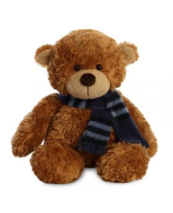 Plyšový medvedík hnedý so šálom - Bonnie (25 cm)