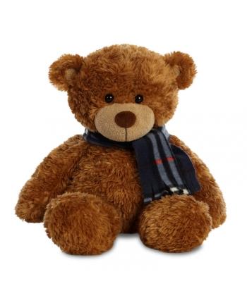 Plyšový medvedík hnedý so šálom - Bonnie (33 cm)