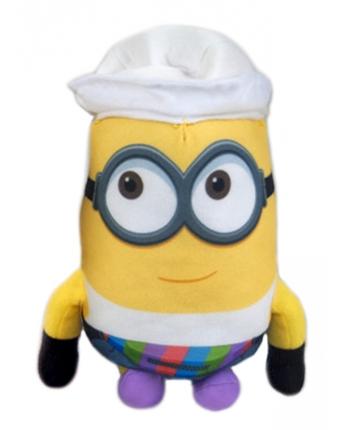 Plyšový Mimoň Jerry v bielom klobúčiku - Ja, zloduch 3 (22 cm)