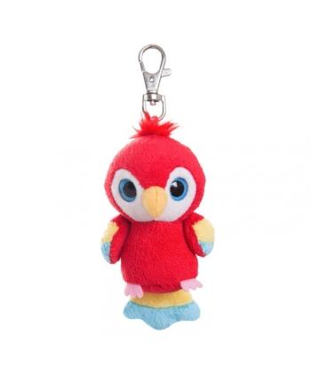 Plyšový papagáj Ara - kľúčenka - YooHoo (7,5 cm)