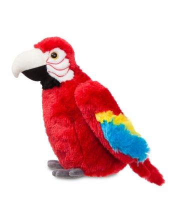 Plyšový papagáj Scarlet Macaw - Flopsie (30,5 cm)
