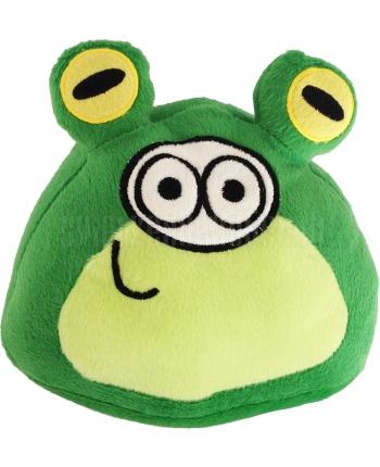 Plyšový POU - zelený v kostýme žabky (18 cm)
