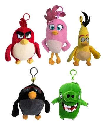 Plyšový prívesok Angry Birds Movie (15-19 cm) - 5 druhov