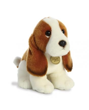 Plyšový psík Basset - Miyoni 28 cm