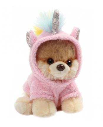 Plyšový psík Boo jednorožec (12 cm)