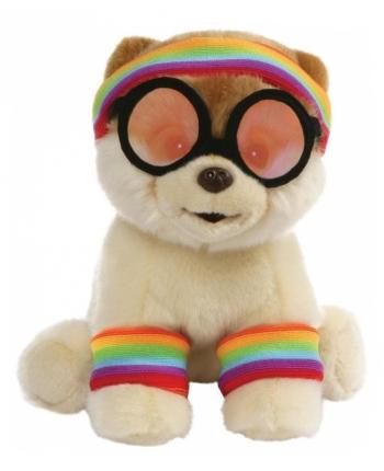 Plyšový psík Boo športovec (22 cm)