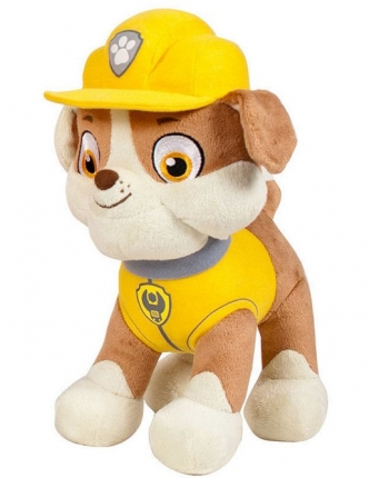 Plyšový psík Rubble - Paw Patrol (28 cm)
