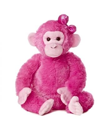 Plyšový ružový šimpanz - Destination Nation (30,5 cm)