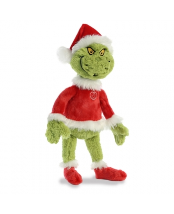 Plyšový Santa Grinch - Dr. Seuss - 48 cm