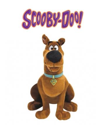 Plyšový Scooby sedící - Scooby-Doo (27 cm)