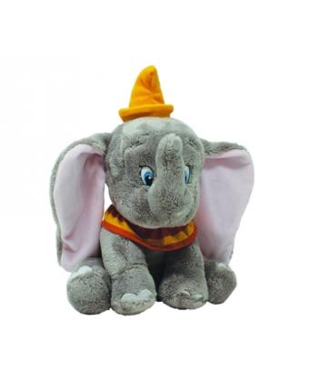 Plyšový sloník Dumbo - sivý - 30 cm