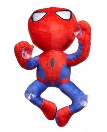 Plyšový Spiderman lezúci s prísavkami  - Marvel (30 cm)