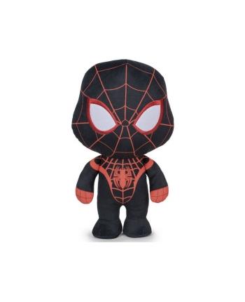 Plyšový Spiderman Miles Morales - stojaci černej - 20 cm