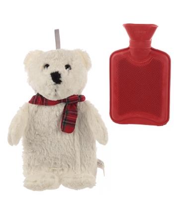 Plyšový termofor ľadový medveď (38 cm)