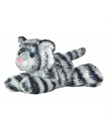 Plyšový tiger biely Shazam - Flopsie (20,5 cm)