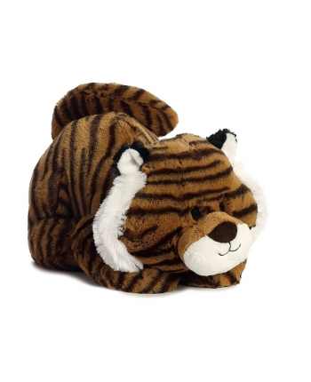 Plyšový tiger ležiaci - Tushies (28 cm)