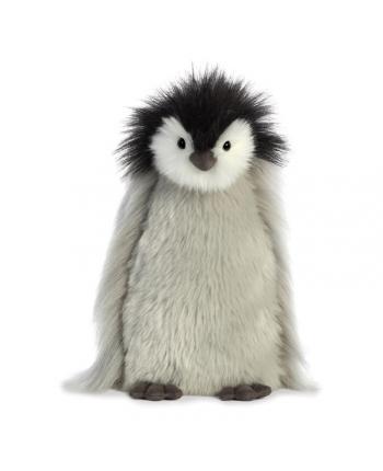Plyšový tučniačik Milly sivý - Luxe Boutique - 26,5 cm