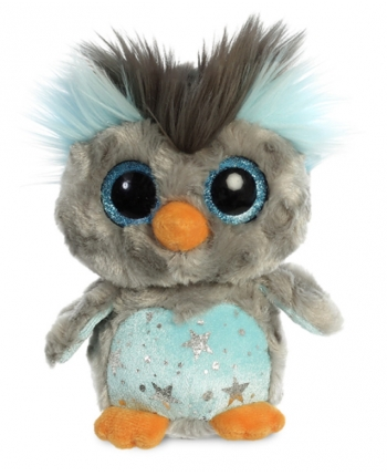 Plyšový tučniak Hoppee modrý - YooHoo (20 cm)