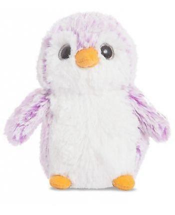 Plyšový tučniak Pom Pom fialový (15 cm)