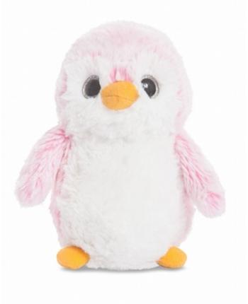 Plyšový tučniak Pom Pom ružový (15 cm)