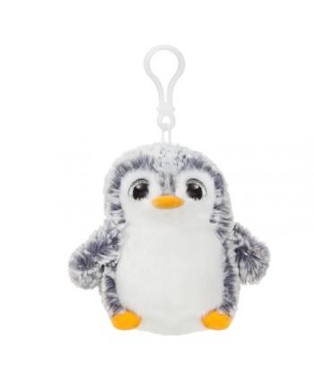 Plyšový tučniak sivý - prívesok - Pom Pom (10 cm)