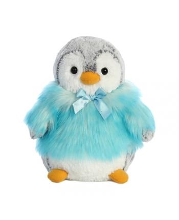 Plyšový tučniak v modrom kožúšku - Pom Pom (22,5 cm)