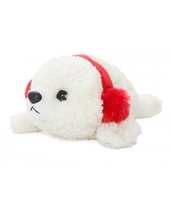 Plyšový tuleň s ušiankou (20,3 cm)