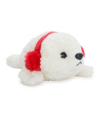 Plyšový tuleň s ušiankou (30,5 cm)