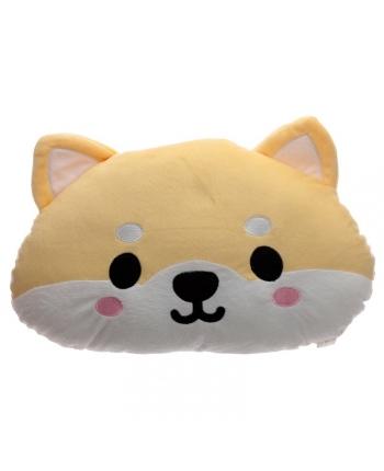 Plyšový vankúš - psík Shiba Inu - 23 x 37 cm