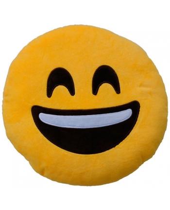 Plyšový polštářek Emoticon Happy (25 cm)