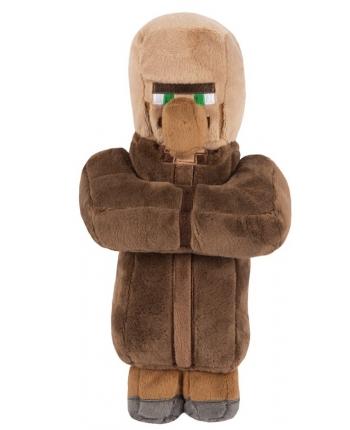 Plyšový Villager Brown - Minecraft (30 cm)