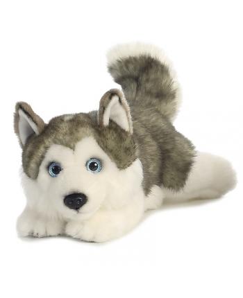 Plyšový vlk ležiaci - Miyoni - 28 cm