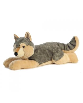 Plyšový vlk ležiaci - Aurora - 69 cm
