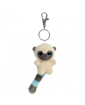 Plyšový YooHoo Bush Baby - klíčenka - YooHoo (9 cm)