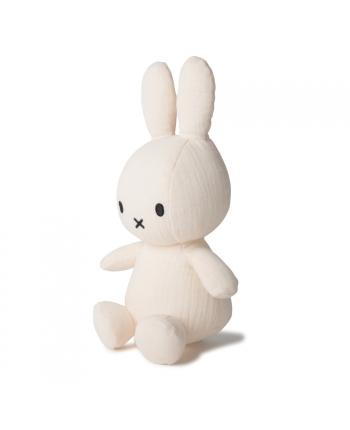 Plyšový zajačik biely - mušelín - Miffy  - 23 cm