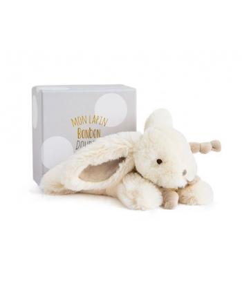 Plyšový zajačik Bonbon hnedý v škatuľke - Dou Dou (25 cm)