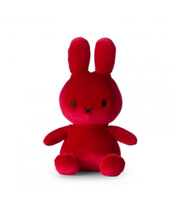 Plyšový zajačik cviklovočervený zamat - Miffy (23 cm)