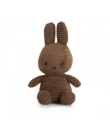 Plyšový zajačik hnedý menčester - Miffy (23 cm)