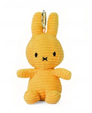 Plyšový zajačik horčicovožltý menčester - kľúčenka - Miffy (10 cm)
