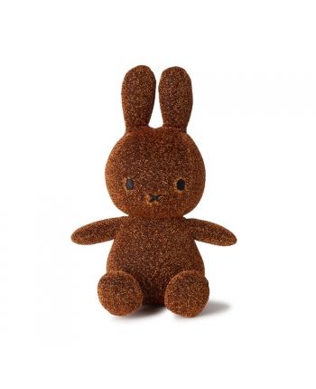 Plyšový zajíček - medená trblietky - Miffy - 23 cm